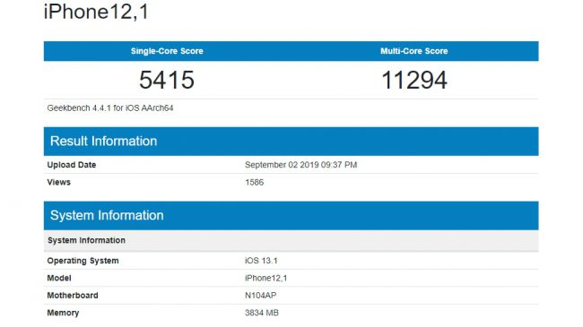 Photo of تسريبات benchmark تكشف عن آداء هاتف iPhone 11R
