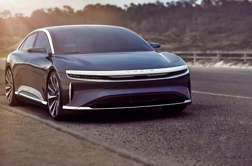 صورة لوسيد موتورز تكشف عن سيارتها الكهربائية الأولى في أبريل