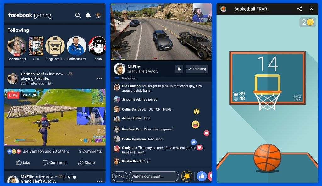 Photo of فيس بوك ستطلق تطبيق مستقل خاص بالبث المباشر لألعاب الموبايل