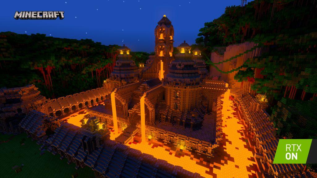 صورة لعبة Minecraft RTX Beta تصل أخيرًا مع تقنيات مذهلة لأول مرة