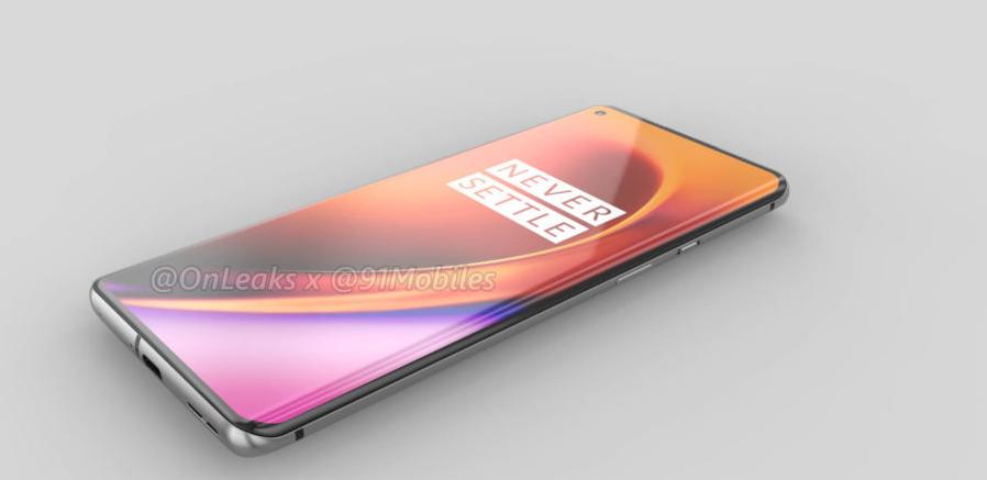 صورة توقعات بدعم هاتف OnePlus 8 العام المقبل لمعدل تحديث 120Hz في الشاشة