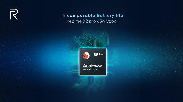 صورة إعلان تشويقي من Realme يؤكد على دعم هاتف Realme X2 Pro لشاحن بقدرة 65W