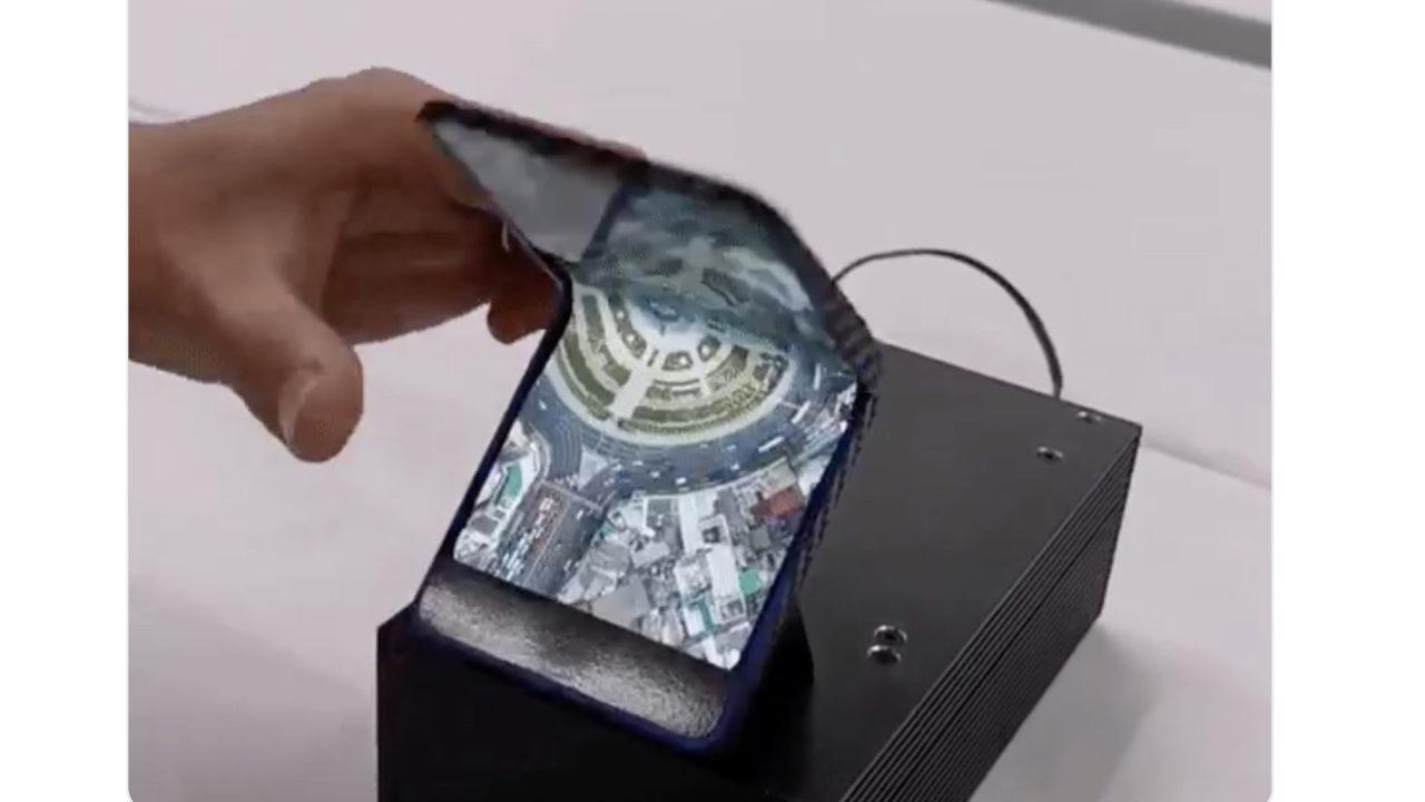 صورة سامسونج تخطط لإطلاق هاتف أخر مميز بتصميم صدفي قابل للطي في 2020