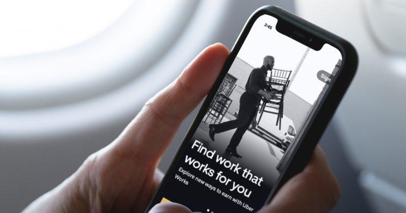 Photo of أوبر تطلق تطبيق التوظيف والعمل Uber Works