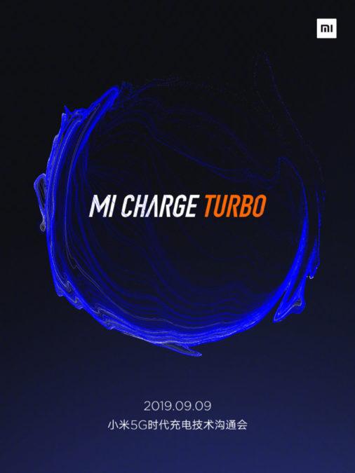 Photo of شاومي تعلن عن حدث إطلاق Mi Charge Turbo للهواتف الداعمة للجيل الخامس